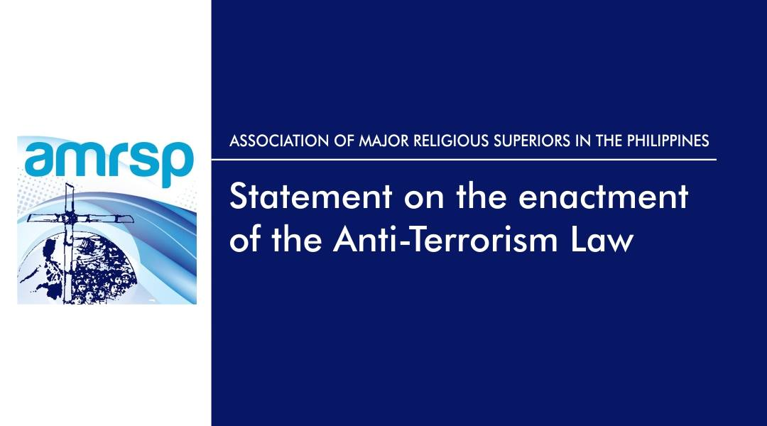 AMRSP statement on the enactment of the Anti-Terrorism Law