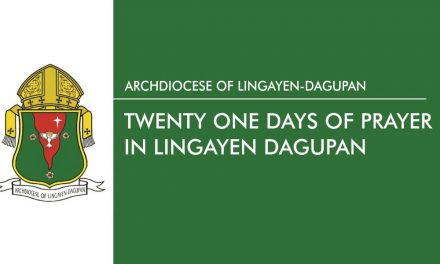 Twenty-one days of prayer in Lingayen-Dagupan