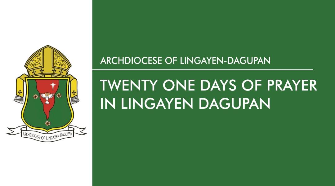 Twenty-one days of prayer in Lingayen-Dagupan