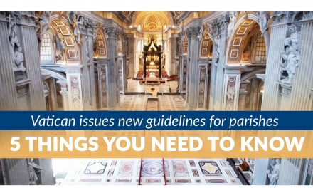 Vatican issues new guidelines for parishes: 5 things you need to know