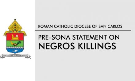 Pre-SONA Statement on Negros Killings