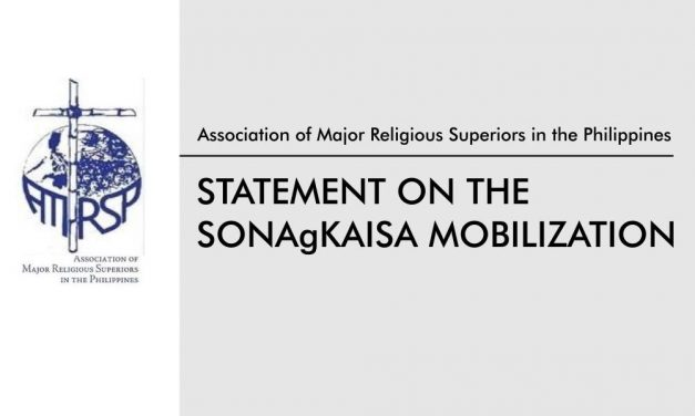 AMRSP Statement on the Occassion of the SONAgKAISA Mobilization