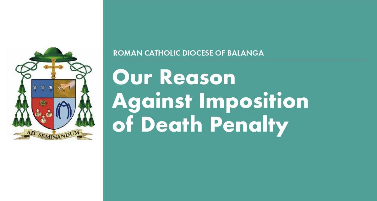 Our reason against imposition of death penalty
