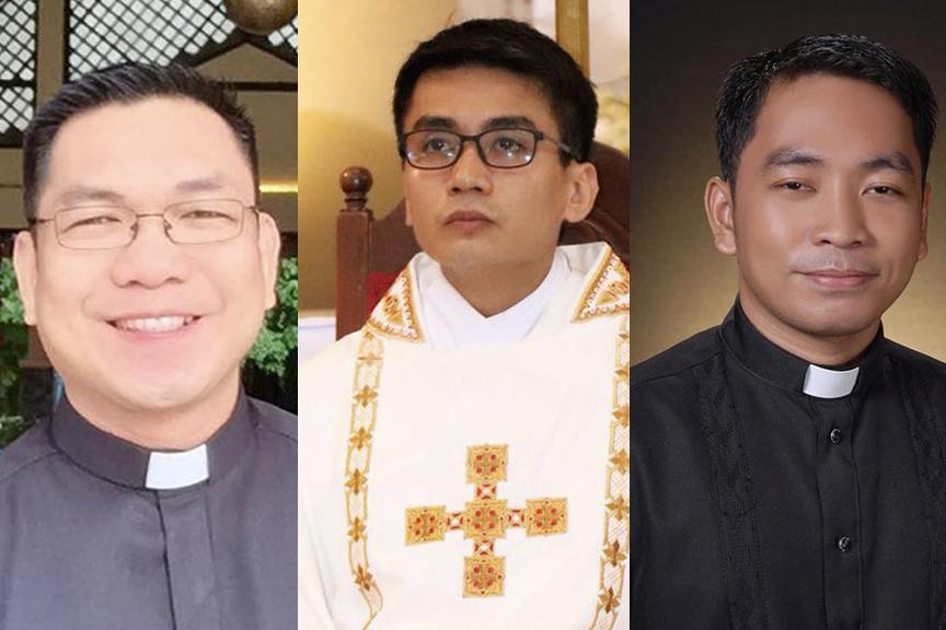 3 Bataan priests get 'missionaries of mercy' mandate from pope