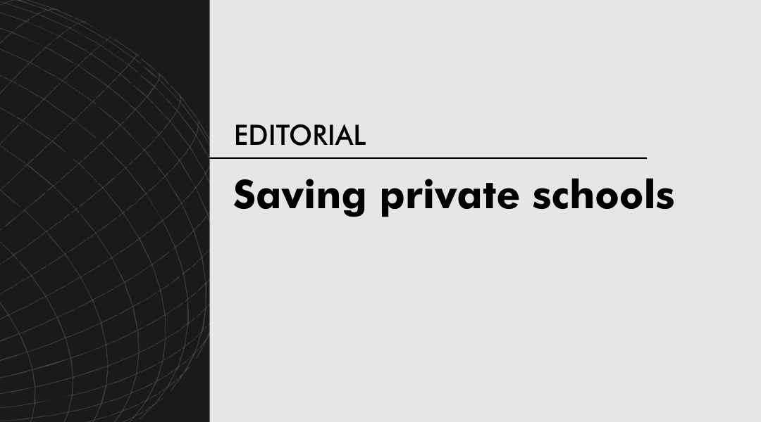 Saving private schools
