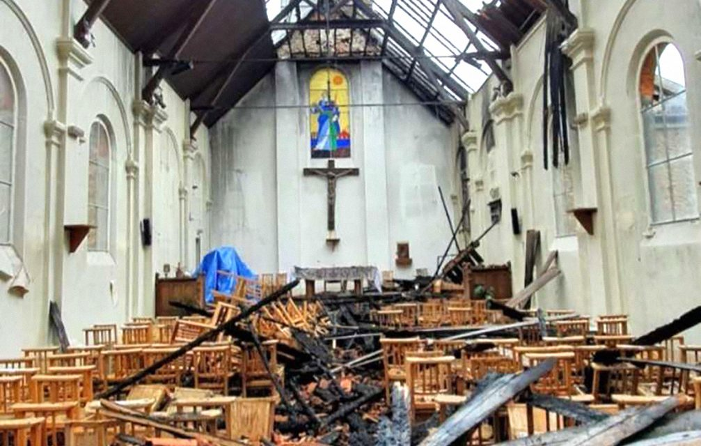 'Will they stop at burning an empty church?': Anti-Christian attacks rise in Europe