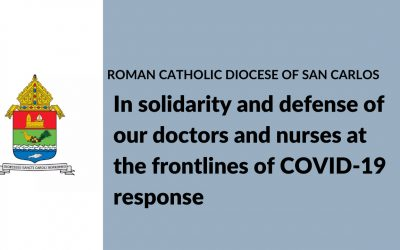 In solidarity and defense of our doctors and nurses at the frontlines of COVID-19 response