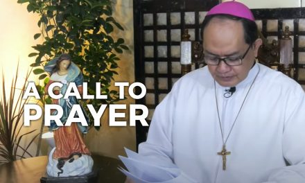 A Pastoral Letter and A CALL TO PRAYER
