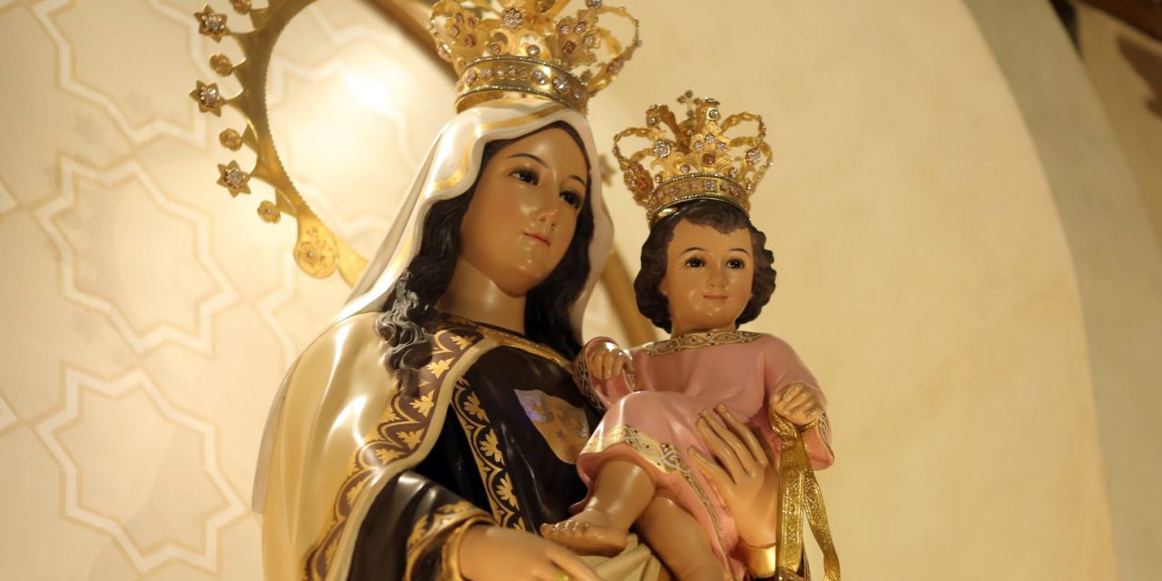 Our Lady of Mount Carmel set for coronation Aug. 15