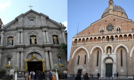 Laguna church gets affinity bond with   Basilica of St. Anthony of Padua in Italy