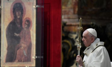 Pope Francis supports project to 'free' Virgin Mary from mafia exploitation in Italy