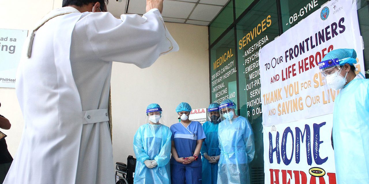 Allow Filipino health workers to   work abroad, bishop asks gov't