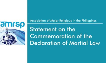 AMRSP statement on the commemoration of the declaration of Martial Law