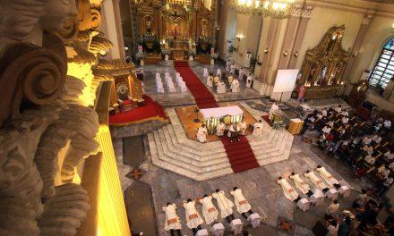 Cebu archdiocese ordains 9 new priests