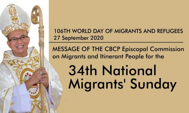 CBCP-ECMI's message for the 34th National Migrants' Sunday
