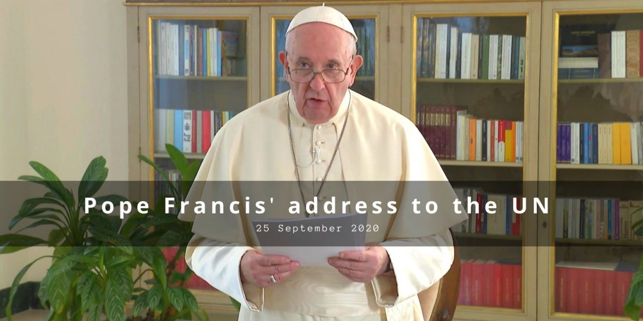 Full text: Pope's address to the United Nations