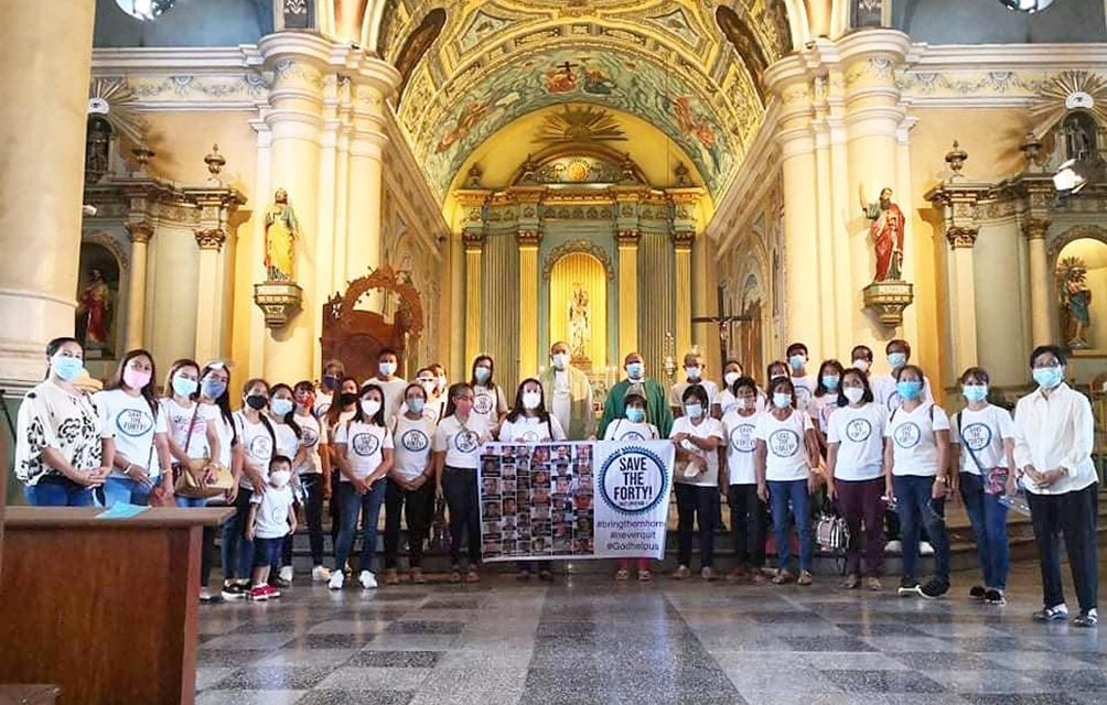 Jaro archdiocese holds prayer for missing Filipino seafarers