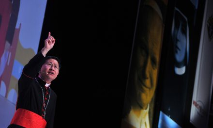 Prayers pour in for Cardinal Tagle's recovery