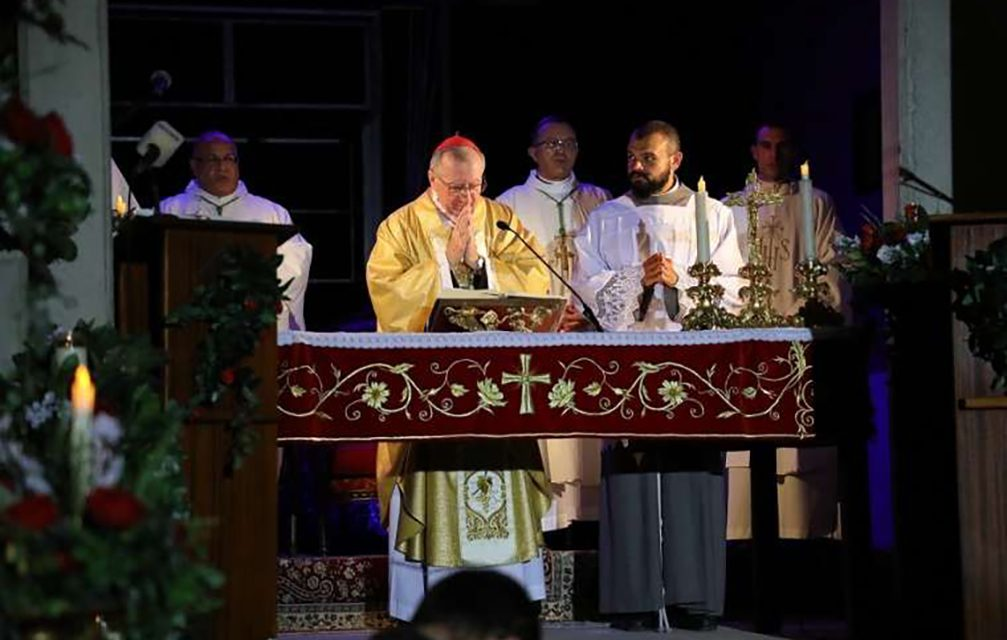 Cardinal Parolin in Lebanon: The Church, Pope Francis are with you after Beirut explosion