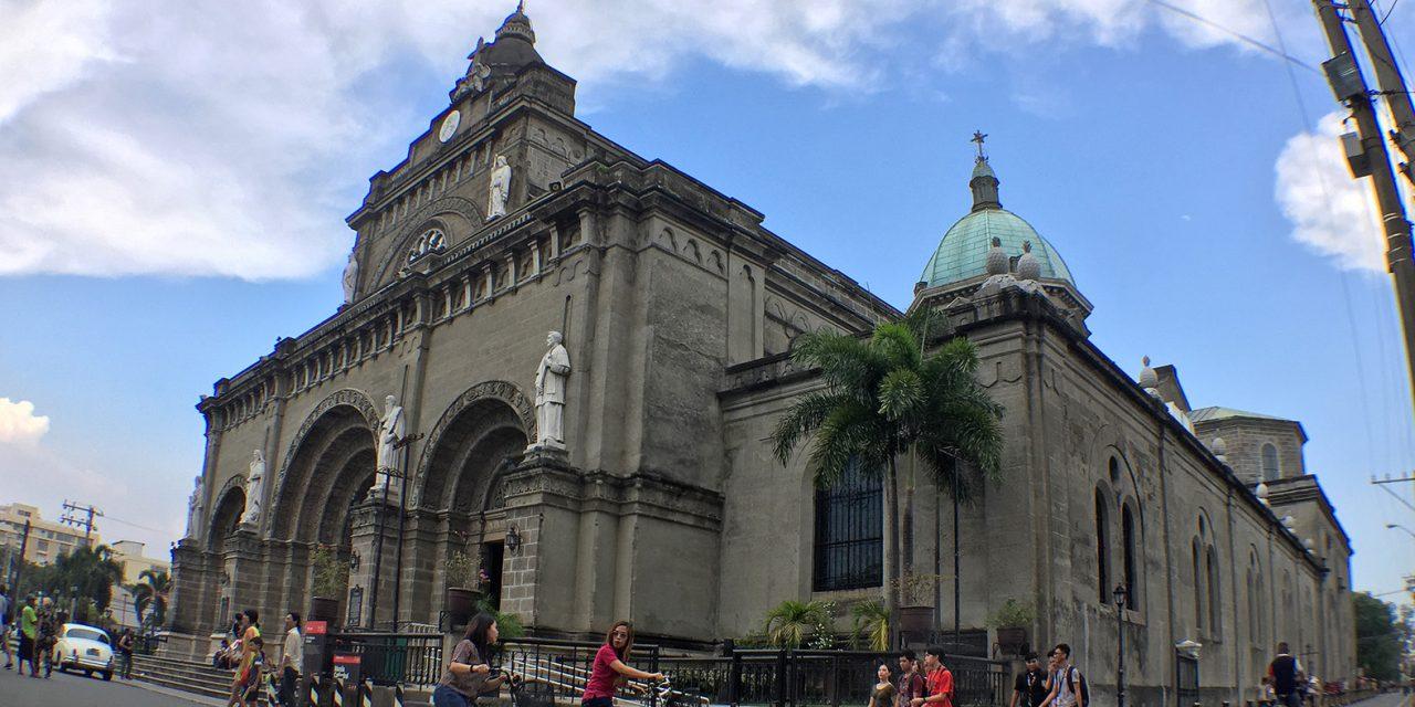 Manila Cathedral reopens after coronavirus closure