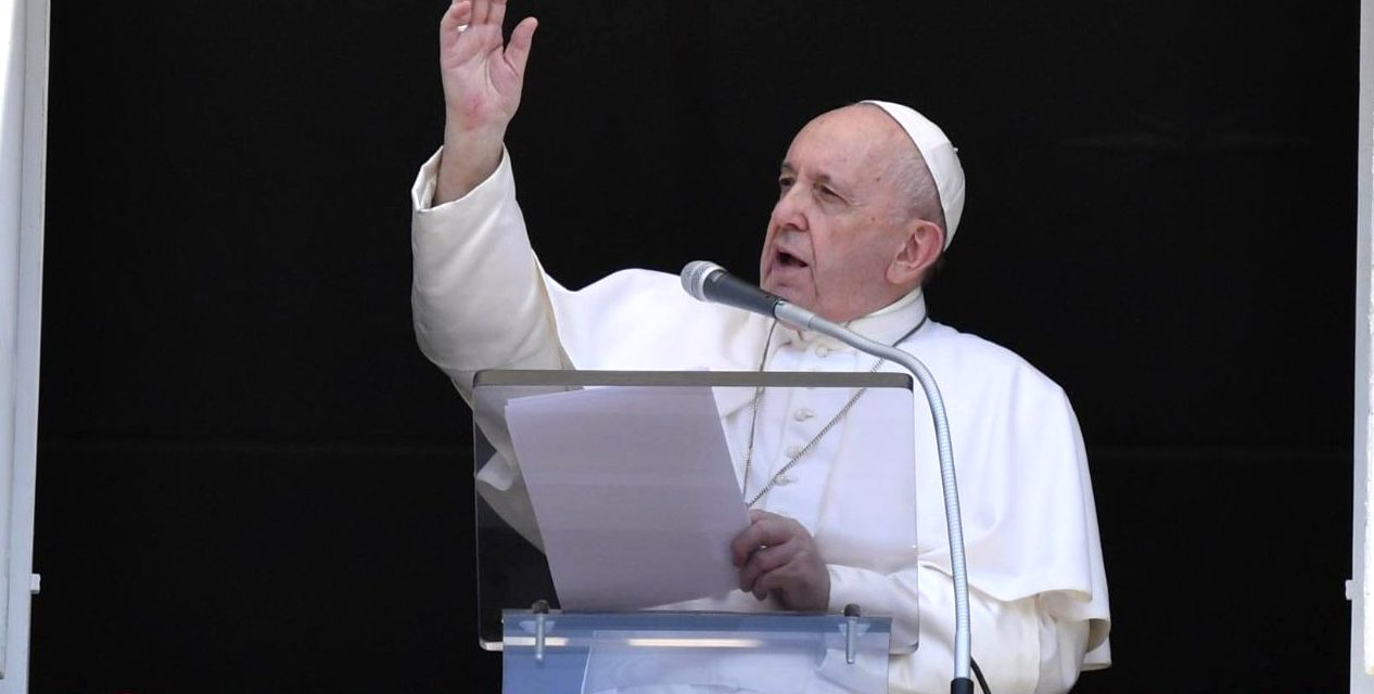 Pope Francis pleads with Catholics not to gossip