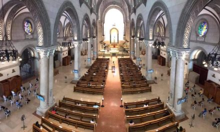 Manila churches now allowed at 30% seating capacity