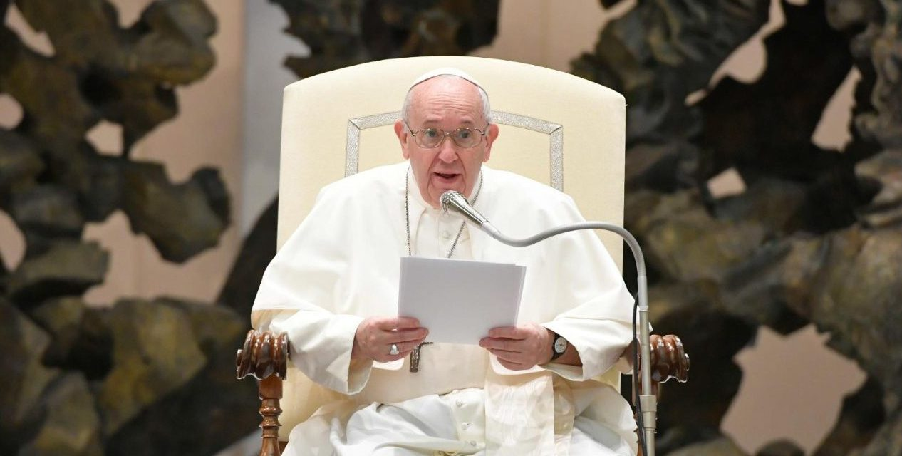 Pope Francis urges laity to 'take a step forward' in evangelization