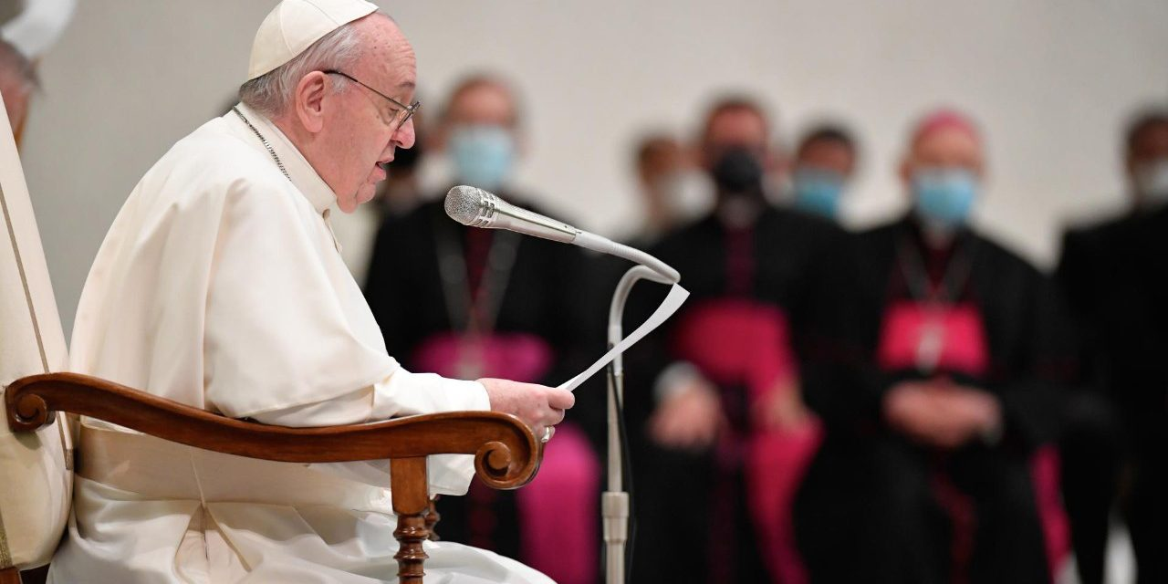 Pope Francis: 'Prayer is the center of life'