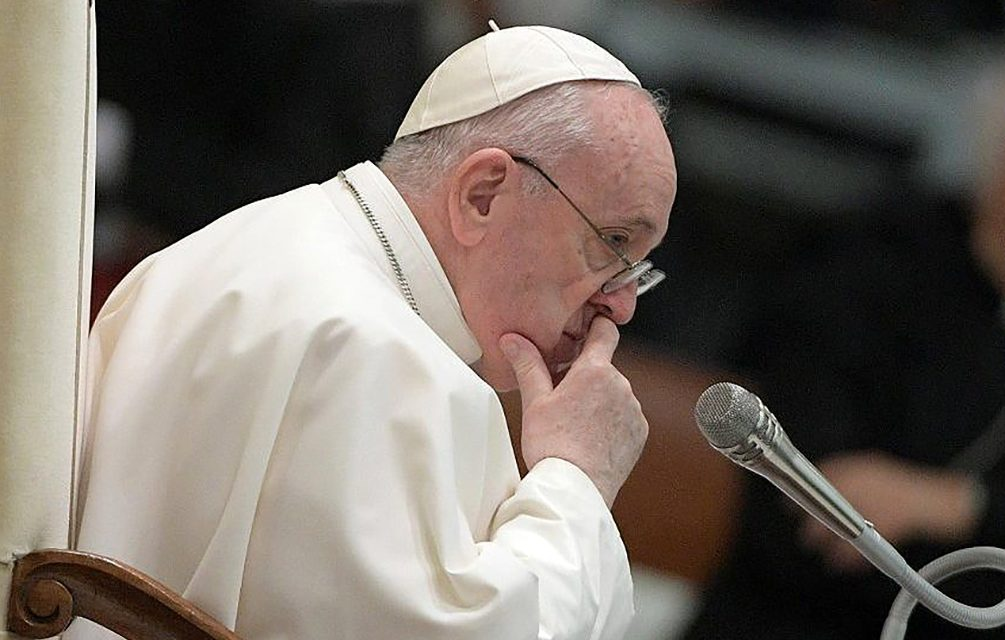 Pope Francis prays for all hearts to be inspired with respect for life