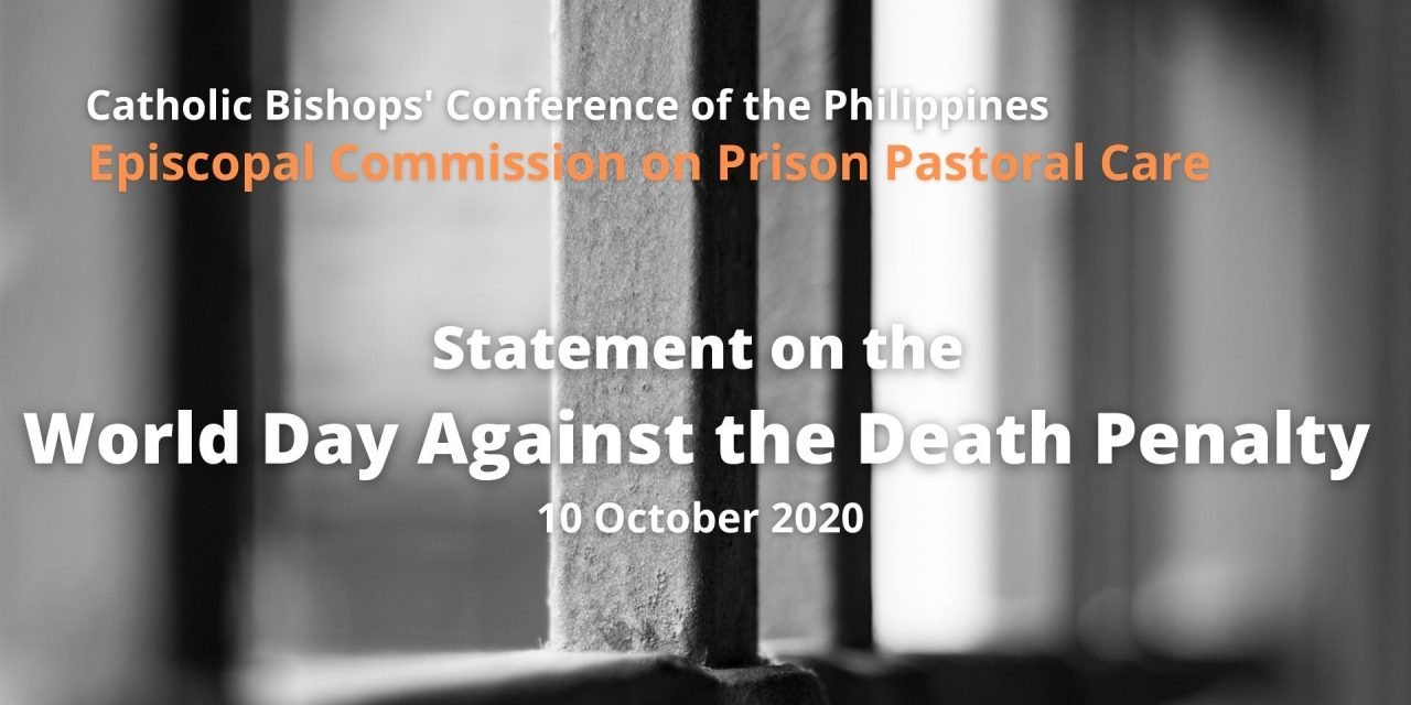 Statement on the World Day Against the Death Penalty