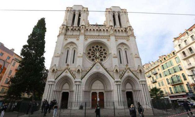 Three dead in terrorist attack at French basilica