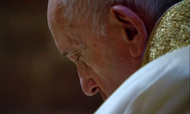 Pope Francis prays for victims of terrorist attack at French basilica