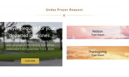 'Undas online' starts accepting prayer requests