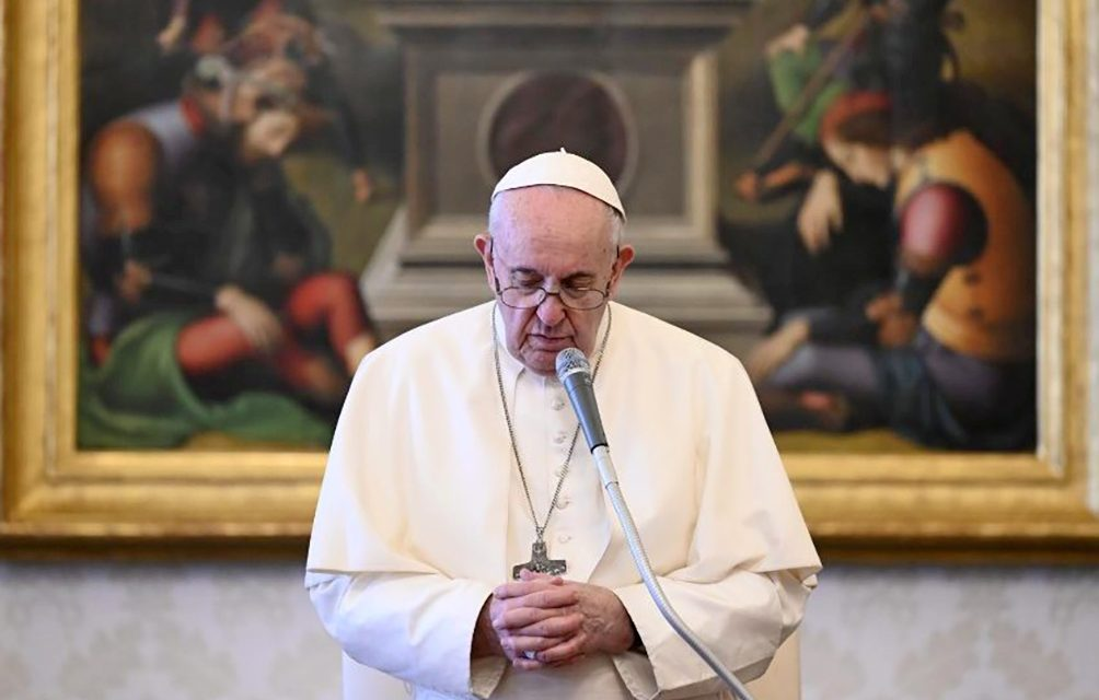 Pope Francis: Consistent prayer strengthens us in times of tribulation