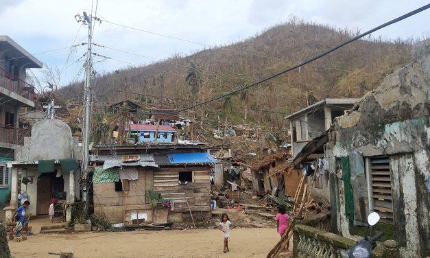 Caritas PH starts rebuilding efforts in typhoon-hit areas