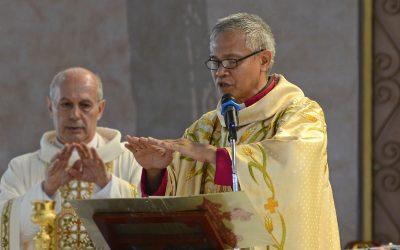 Bishop Antonio recovers from coronavirus