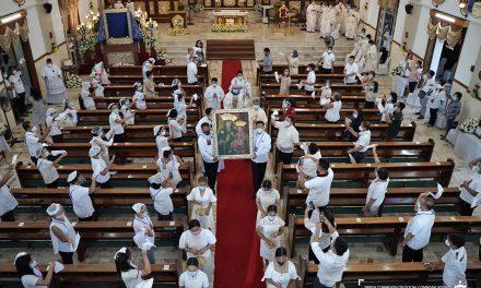 Bulacan town rejoices Church's shrinehood, 2 Marian coronations