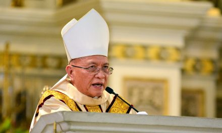 Bishop to youth: Use energy for the service of God