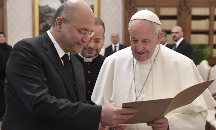 Pope Francis will travel to Iraq in 2021
