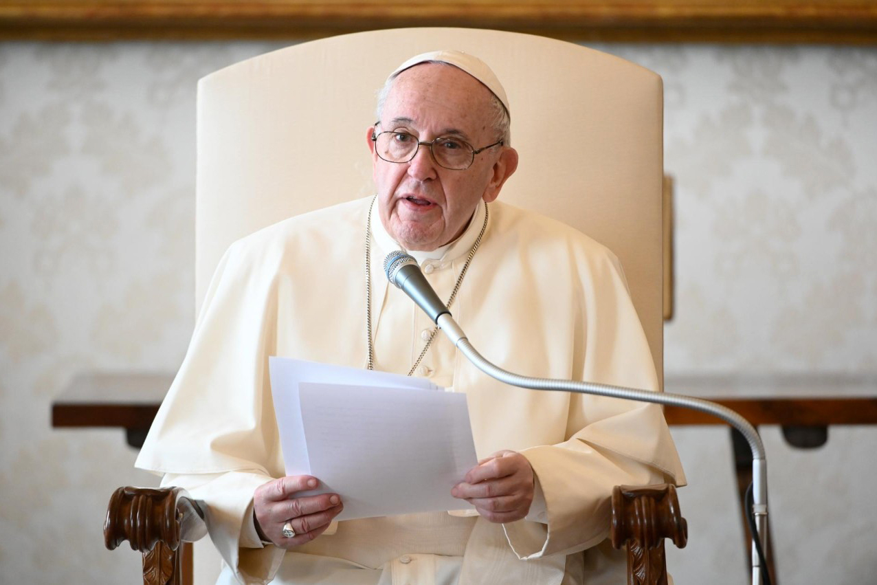 Pope Christmas Speech 2021 Pope Francis Calls For Culture Of Care In 2021 World Peace Day Message Cbcpnews