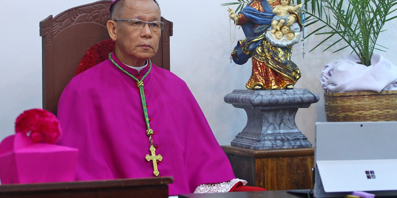 'Be humble, help poor,' Pope tells Cardinal Advincula
