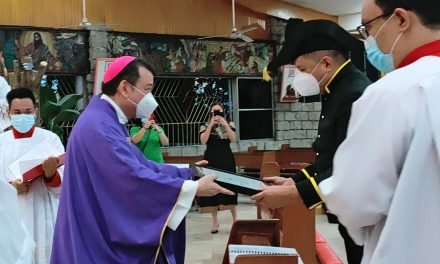 Novaliches diocese confers papal award to engineer