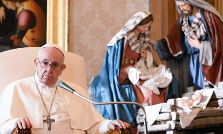 Pope Francis: 'Those who pray never turn their backs on the world'