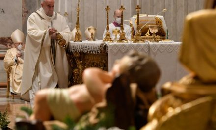 Pope Francis on Christmas Eve: The poor manger was rich in love