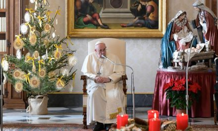 Pope Francis: 'Christmas is the feast of love incarnate'