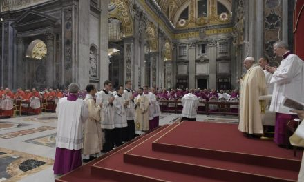 'Painful sciatica' prevents Pope Francis from attending Vatican's New Year's liturgies