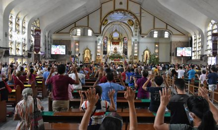Only 400 persons per Mass allowed in   Quiapo Church on Nazarene feast