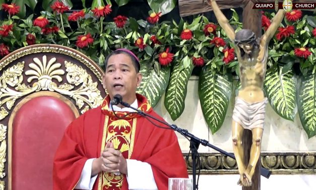 With faith comes responsibility, bishop tells devotees