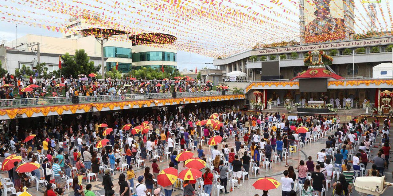 Cebu's Sto. Niño basilica cancels public Masses due to crowd influx