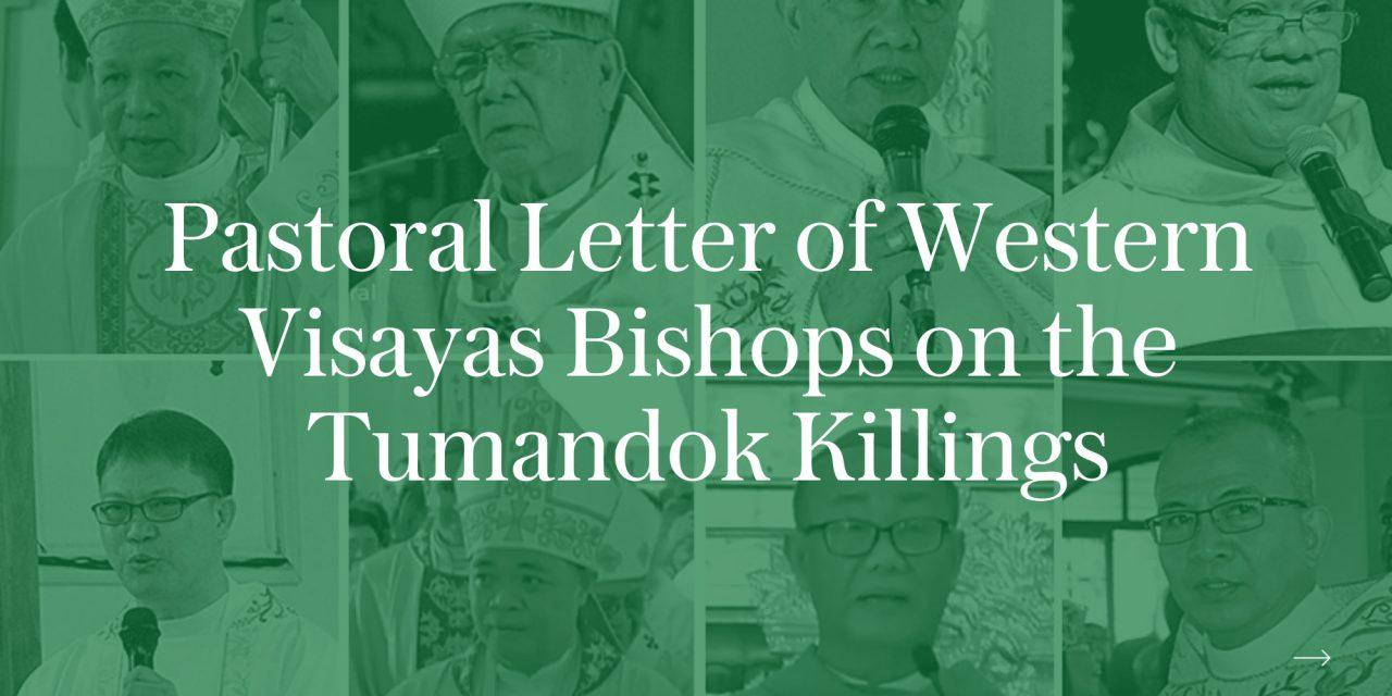 Pastoral letter of Western Visayas bishops on the Tumandok killings